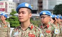 Zapadores vietnamitas preparados para participar en misiones de mantenimiento de paz de la ONU