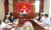 Ciudad sureña de Vietnam y ONU-Hábitat fomentan cooperación en clima y energía