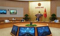 Gobierno vietnamita aborda medidas para el desarrollo y contra el Covid-19