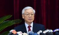 Máximo líder de Vietnam llama a mayor respuesta de la población al movimiento de donación de sangre