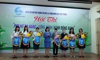 """Mujeres de Da Nang promueven el modelo """"Vivir verde"""" para el desarrollo sostenible"""