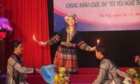 Jóvenes vietnamitas contribuyen a preservar artes tradicionales de la nación