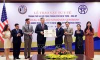 Capital vietnamita apoya a Nueva York en la lucha contra el Covid-19