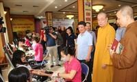 Siguen vibrantes actividades de donación de sangre en Vietnam