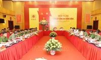 Líder político de Vietnam orienta la organización del congreso partidista del sector de Seguridad Pública