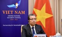 Vietnam por solucionar pacíficamente el conflicto entre Israel y Palestina