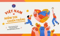 """Lanzan campaña de comunicación sobre el mensaje """"Fe en la victoria"""" contra el covid-19 en Vietnam"""