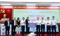 Vietnam recibe 500 respiradores para la lucha contra el covid-19