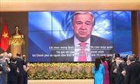 Secretario general de la ONU alaba los aportes de Vietnam a la paz mundial