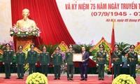 Estado Mayor del Ejército Popular de Vietnam celebra 75 años de su fundación