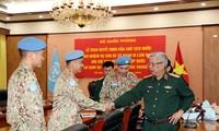 Otros tres soldados vietnamitas asumirán la misión de paz de la ONU en países africanos
