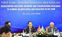 Vietnam consolida la cooperación con la ONU en la mitigación de impactos de desastres naturales