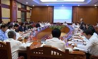 Debaten medidas de seguridad y sanidad para el XIII Congreso Nacional del Partido Comunista de Vietnam