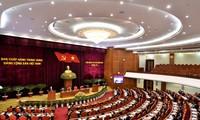 La segunda jornada del XIV Pleno del Comité Central del Partido Comunista de Vietnam