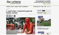 """Medios europeos cubren la """"demanda histórica"""" de las víctimas del Agente Naranja en Vietnam"""