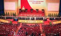 Periódicos extranjeros continúan destacando el éxito del XIII Congreso del Partido Comunista de Vietnam