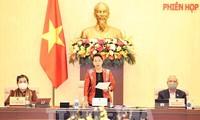 Comienza la 53ª reunión del Comité Permanente de la Asamblea Nacional de Vietnam