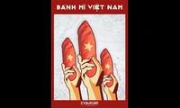 """El """"banh mi Patria"""", una curiosa muestra del patriotismo en Vietnam"""