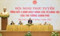 Evalúan el desempeño quinquenal del equipo de expertos del jefe del Gobierno vietnamita