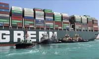 Fin de la espera en el Canal de Suez