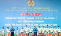 Localidades vietnamitas lanzan el Mes de Trabajadores