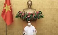 El primer ministro de Vietnam insta a no bajar la guardia en la lucha contra el covid-19