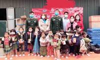 La aldea de Co Dua avanza con el apoyo de militantes del Partido Comunista de Vietnam