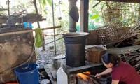 Ha Giang avanza con el modelo de cooperativas y aldeas de artesanía tradicional