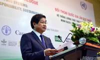 Vietnam garantiza la seguridad alimentaria propia y aporta al sistema mundial