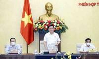 Finaliza la 57ª reunión del Comité Permanente del Parlamento vietnamita