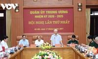 La Comisión Militar Central del Partido Comunista de Vietnam celebra su primera reunión del mandato