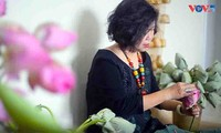 """Té de loto """"Xổi"""": un preciado regalo de Hanói"""