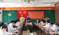 El presidente de la Asamblea Nacional realiza una visita de trabajo a la provincia de Dak Nong