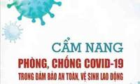 Publicado un manual contra el covid-19 en materia de seguridad e higiene ocupacional en Vietnam