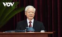El máximo líder político de Vietnam llama a la solidaridad de todo el pueblo para triunfar en la pandemia del covid-19