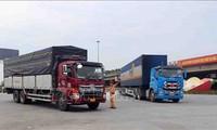 Garantizado el transporte de productos para la producción y las necesidades básicas en medio de la cuarta ola de la pandemia