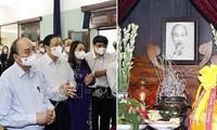 El jefe de Estado homenajea al presidente Ho Chi Minh en ocasión de efemérides importantes de Vietnam