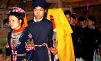 La singularidad de las bodas de la etnia Cao Lan en Quang Ninh