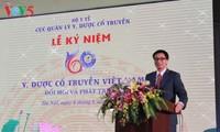 Celebran aniversario del sector de medicina tradicional de Vietnam