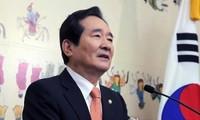 El líder parlamentario surcoreano llama a un diálogo con Corea del Norte