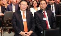 Viceprimer ministro de Vietnam inicia actividades en el Foro Económico Mundial 2018