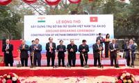 Ponen la primera piedra de la nueva Embajada vietnamita en Nueva Delhi