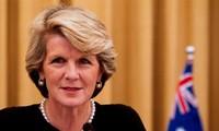 La canciller australiana inaugurará un puente nuevo en Vietnam