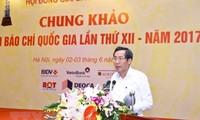 Otorgan premios de Prensa de Vietnam 2017