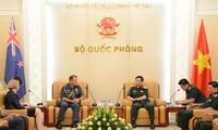 Vietnam y Nueva Zelanda fortalecen nexos militares