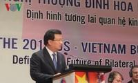 Vietnam, US define future economic ties