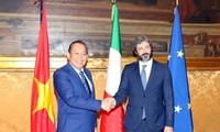 Vietnam solicita apoyo del Parlamento italiano a la pronta ratificación del del TLC con la Unión Europea