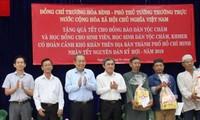Vicepremier de Vietnam visista comunidad de las etnias de Cham y Jemer en Ciudad Ho Chi Minh