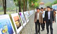 """Exposición fotográfica """"El mar y las islas de la Patria"""" en Ninh Binh"""
