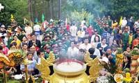 Rinden en Lam Dong tributo a los reyes Hung